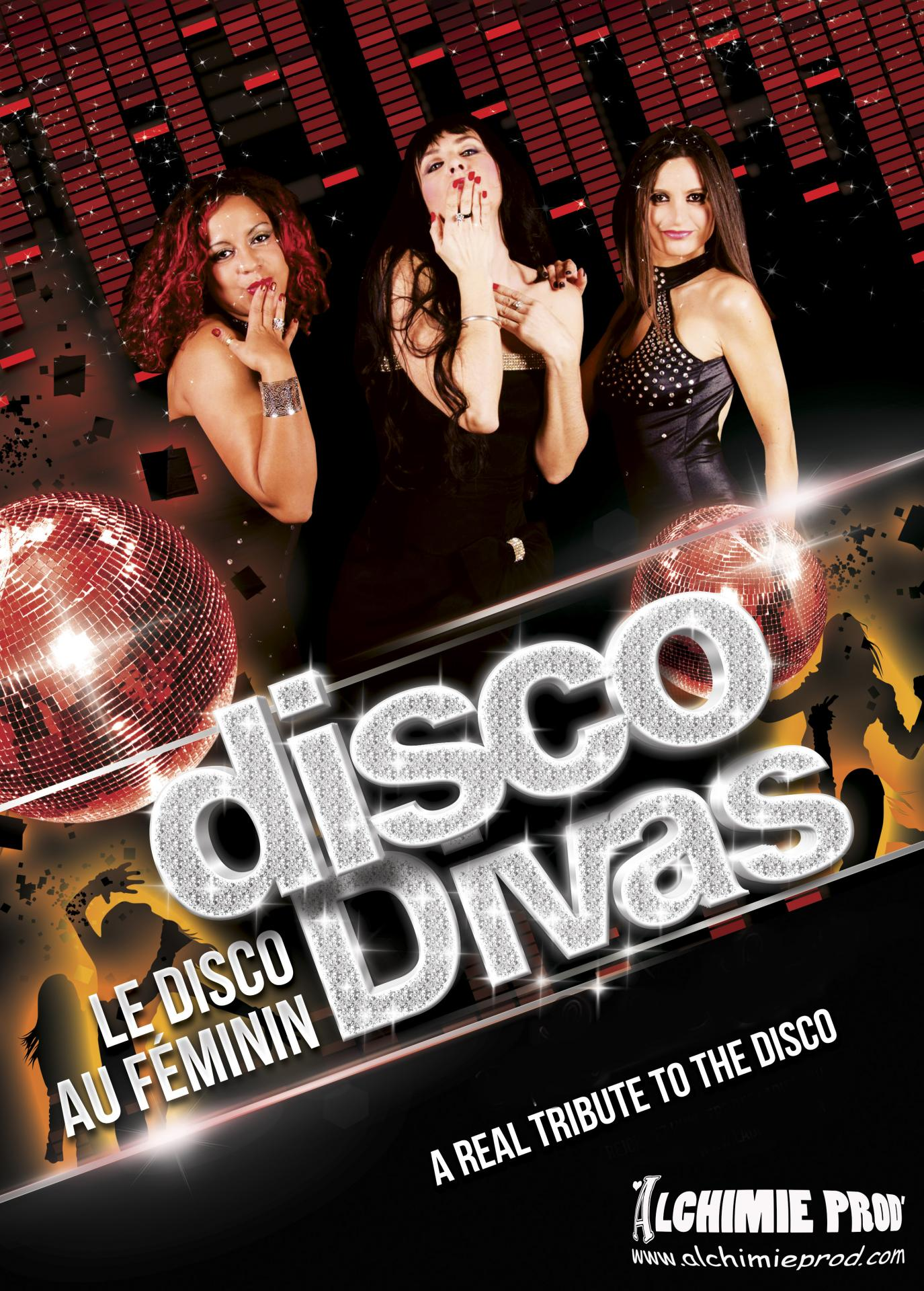 Affiche disco divas a2